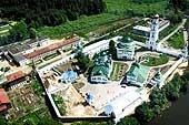 Раифский монастырь с высоты птичьего полета, 2002 год.
