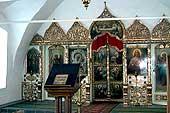 Иконостас храма преподобных Отец в Синае и Раифе избиенных, 2003 год.