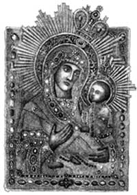 Грузинский Чудотворный образ Божией Матери (16 в.)