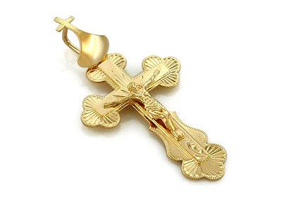 Купить золотой крестик